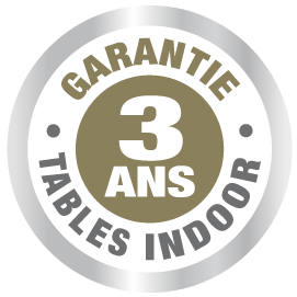 garantie table ping pong cornilleau